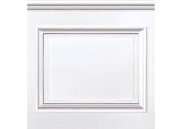 Настенные панели белые декоративные
