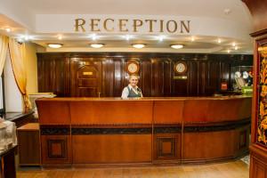 Ресепшн в отеле Царьград