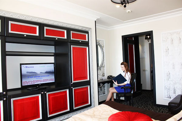 Наша мебель в номерах гостиницы