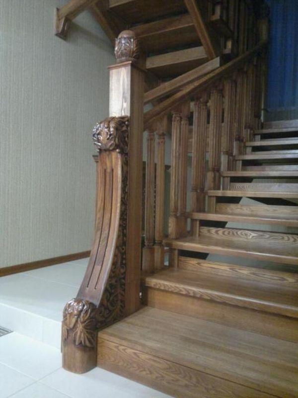 браширование лестницы из дуба фото можете